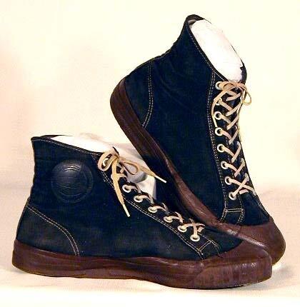 1920-30's Joe Lapchick Model Basketball Shoes