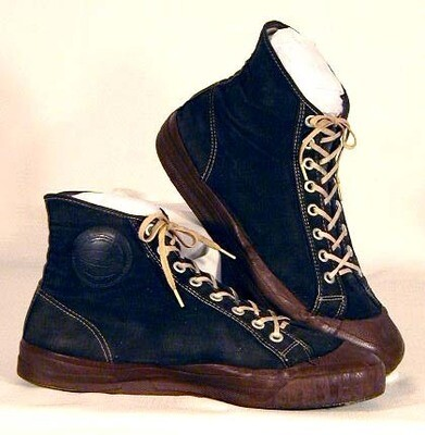 1920-30's Joe Lapchick Model Basketball Shoes