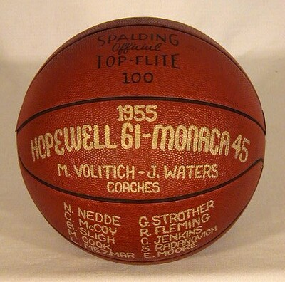 1955 Trophy Basketball made by Spalding