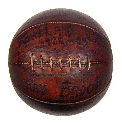 Vintage 1920's Wright & Ditson - Victor Laced Basketball