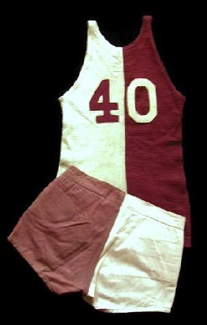 1910-20s Vintage Basketball Uniform made by D&M