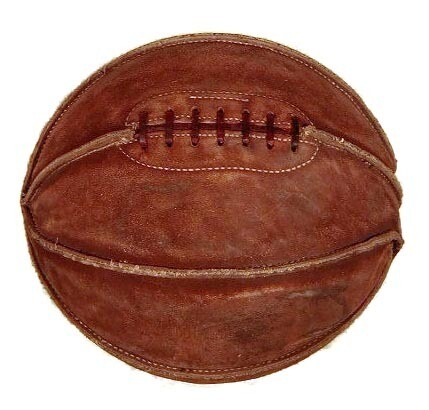 Vintage Laced Basketball - 1910's