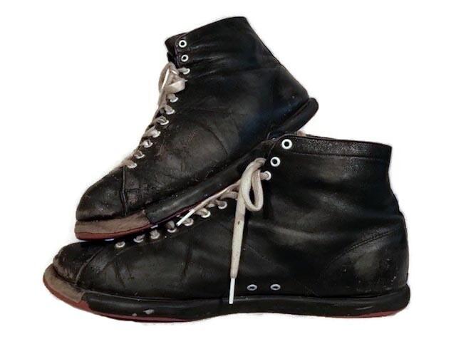 Vintage 1920's Spalding Basketball Shoes