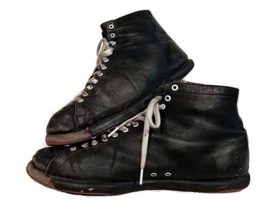 Vintage 1920's Spalding Basketball Shoes