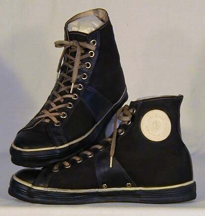 1930's GoldSmith Canvas and Rubber Basketball Shoes