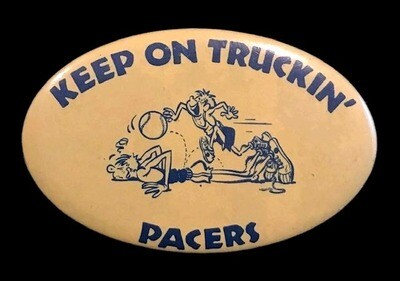 1960's ABA Indiana Pacers Pinback Button