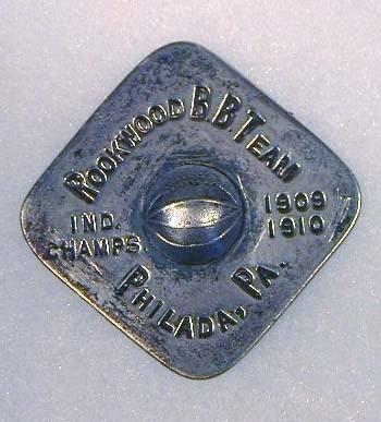 1909-10 Basketball Award Medal / Pin