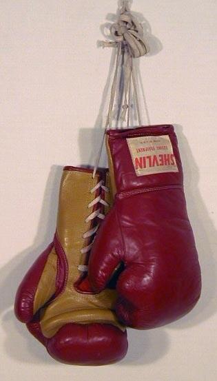 1950's Shevlin Boxing Gloves - Antique Boxing