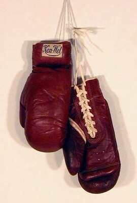 Vintage Boxing Glove by Ken-Wel - 1930's