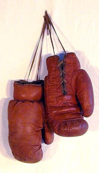 1910's Vintage Boxing Gloves