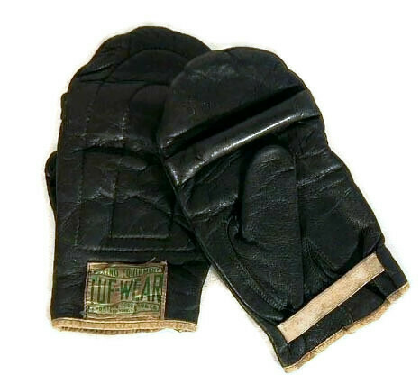1930's Heavy Bag Gloves by Tuf-Wear Boxing Equipment