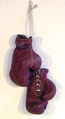 Vintage Boxing Gloves by Geo. A. Reach - 1930's