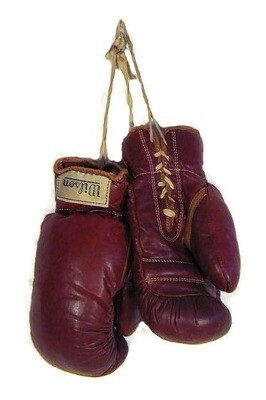 Vintage Boxing Gloves - 1930's Wilson