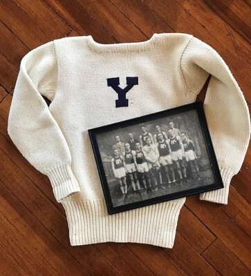 1900-1903 Yale Boxing Team Photo and Letter Sweater