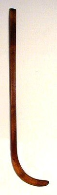 19th Century One Piece Hockey Stick made by Spalding