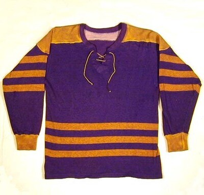 1930's Lace-Up Hockey Jersey