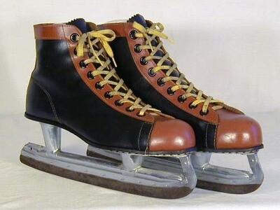1930-40's Vintage Hockey Skates