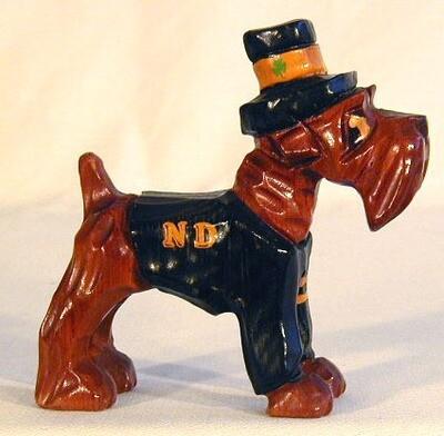 1950's Notre Dame University Carter Hoffman College Mascot