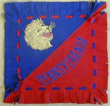 1910's Pennsylvania - Penn State University Felt Pillow Cover
