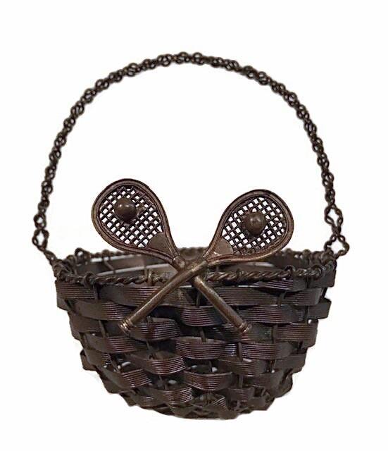 1900's Vintage Tennis Basket