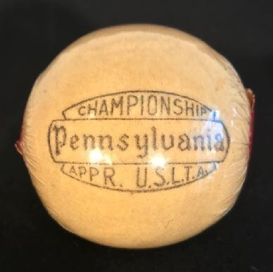 1920's Tennis Ball by Pennsylvania