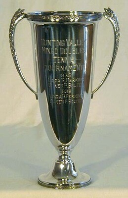 1935 Antique Tennis Trophy
