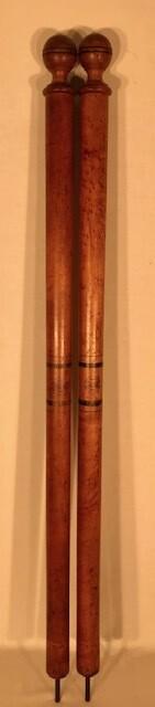 19th Century Spalding Wooden Tennis Posts
