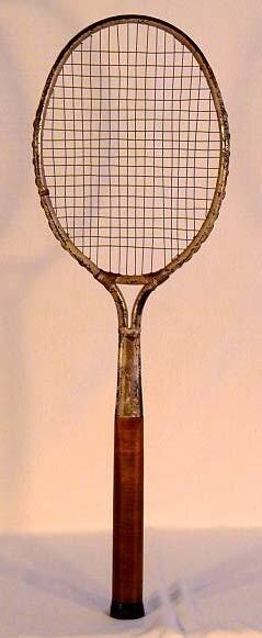 "1920's Dayton ""Flyer"" Tennis Racket"