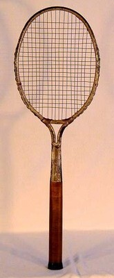 "1920's Dayton ""Flyer"" Tennis Racket"