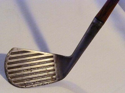 1900-05 Spalding Hickory Shaft Deep Groove Iron