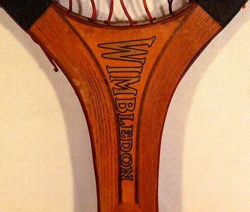 1910's Thomas E. Wilson 'Wimbledon' Model Tennis Racket