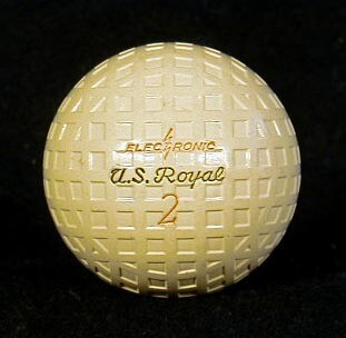 1920's Square Mesh Golf Ball, made by U.S. Royal - GEM MINT