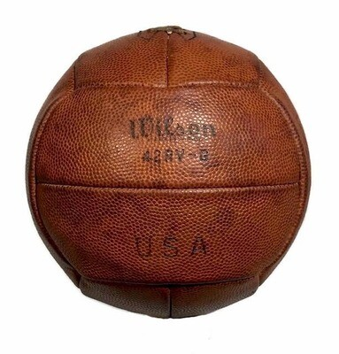 1930 - 1940's Laced Volleyball made by Wilson