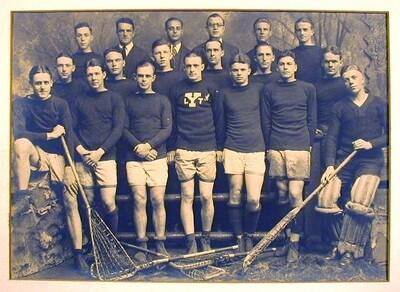 1924 Lacrosse Photo from Yale University