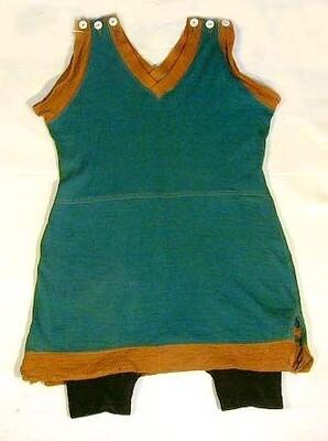 Turn of the Century Wool Bathing Suit