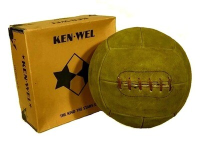 1920's Ken-Wel Laced Volleyball
