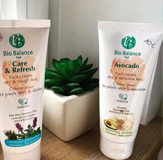 Bio balance voetcrème avocado of care and refresh 75ml
