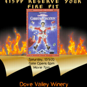 Dec.5th *Food Truck, Fire Pits and Movie* National Lampoon's Christmas Vacation