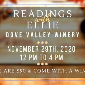 Nov.29th Reading with Ellie*12pm