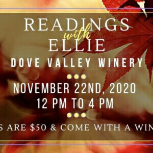 Nov.22nd *Reading with Ellie*12pm