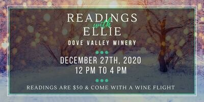 Dec.27th Reading with Ellie*12pm