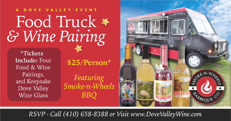Smoke-n-Wheel* Food & Wine Pairing*Feb.27th* 3pm