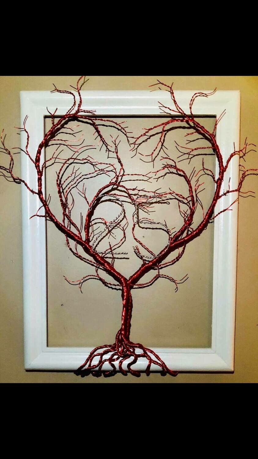 Twisted Wire LOVE Tree*Feb28th*12pm