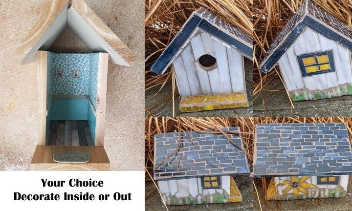 Your Choice Birdhouse Inside or Out*April 25th*12pm