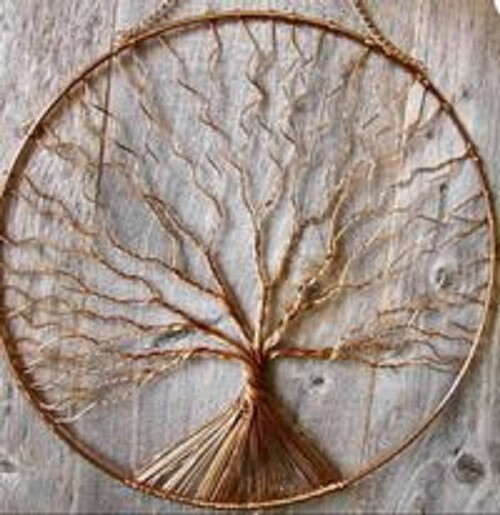 Twisted Wire Tree of LIFE*April 25th*1pm