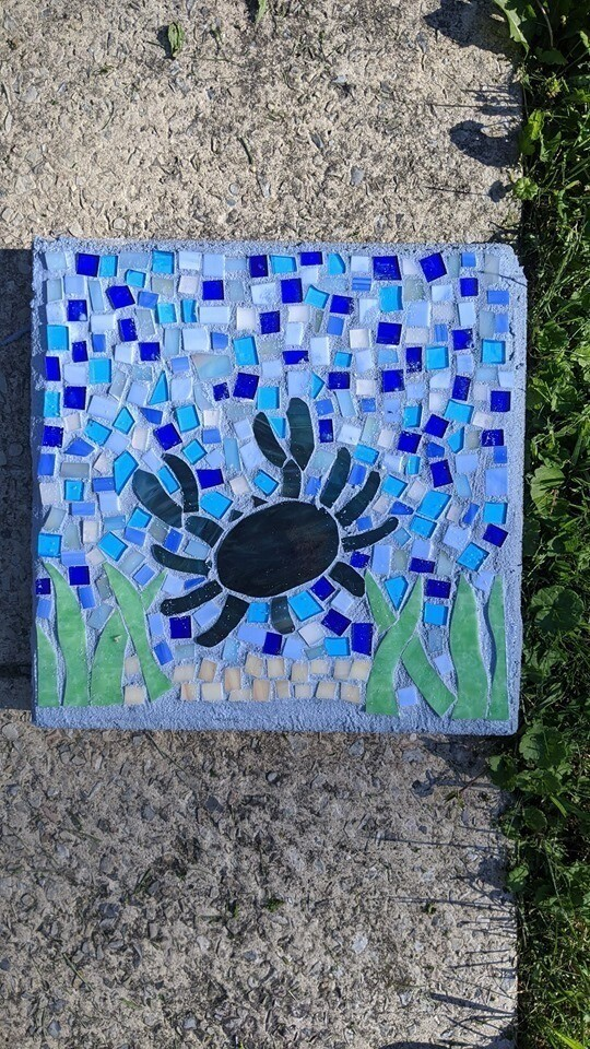 Mosaic 12x12 stepping stone Workshop*April 17th*2pm