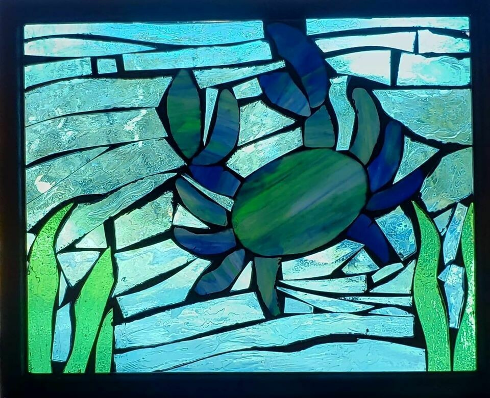 Mosaic Crab Workshop*May 2nd*1pm