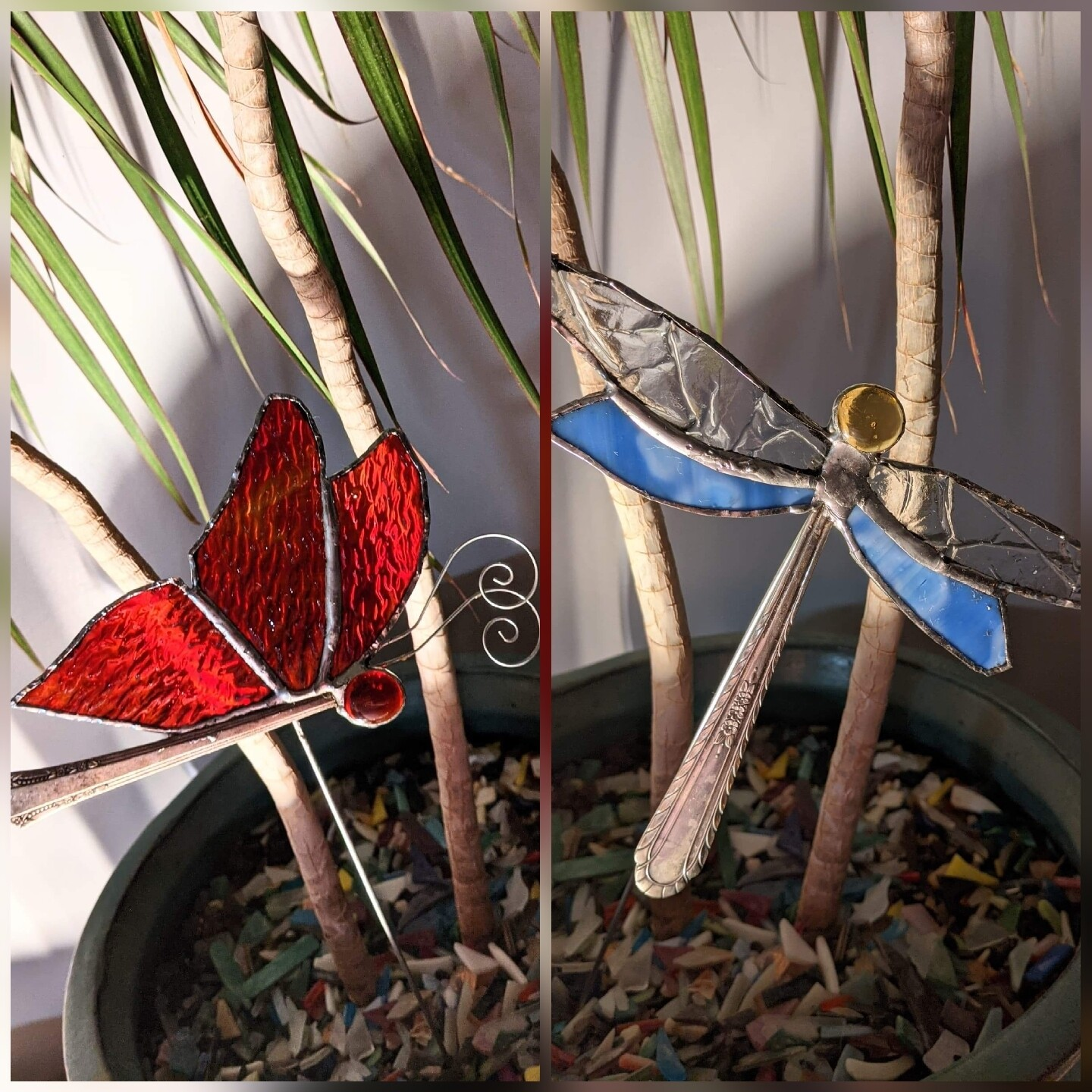 Stained glass Butterfly or Dragonfly Suncatcher*April 17th*2pm