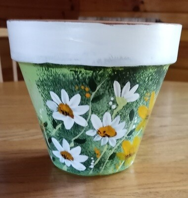Painted Clay Pot*June 6th*1pm