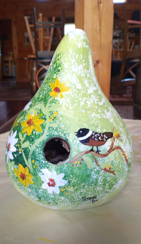 Birdhouse Gourd/Chickadee*June 13th*1pm